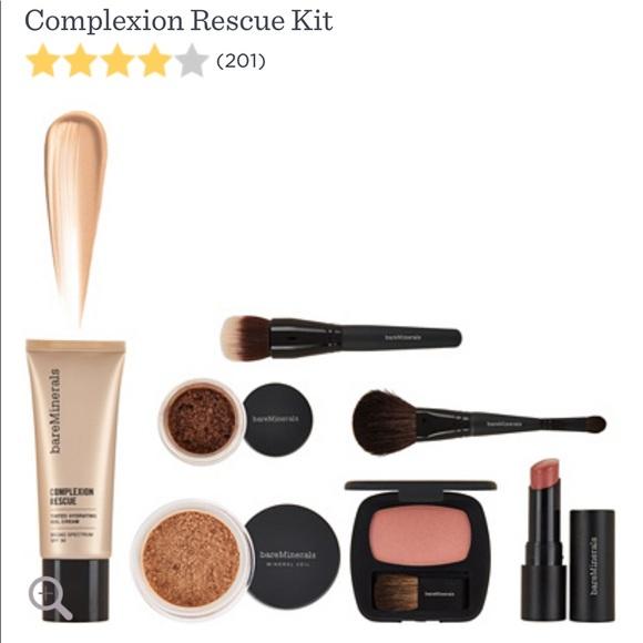Bareminerals Makeup 7 Piece Complexion Rescue Kit Poshmark